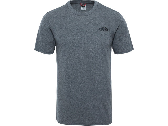 The North Face Simple Dome SS Tee Herrer, tnf medium grey heather